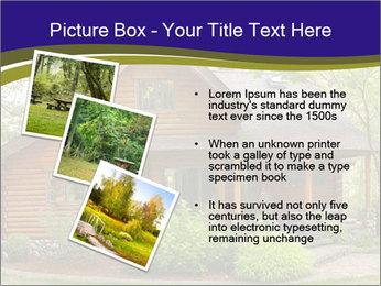 Oregon Forest Modern Log Cabin PowerPoint Template - Slide 17