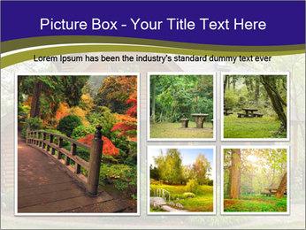 Oregon Forest Modern Log Cabin PowerPoint Template - Slide 19