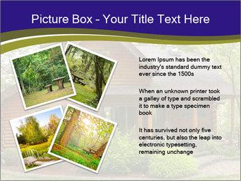 Oregon Forest Modern Log Cabin PowerPoint Template - Slide 23