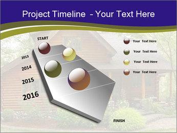 Oregon Forest Modern Log Cabin PowerPoint Template - Slide 26