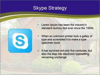 Oregon Forest Modern Log Cabin PowerPoint Template - Slide 8