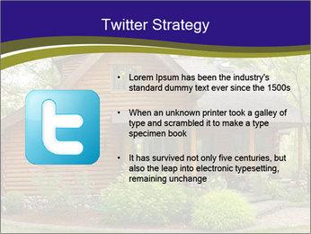 Oregon Forest Modern Log Cabin PowerPoint Template - Slide 9
