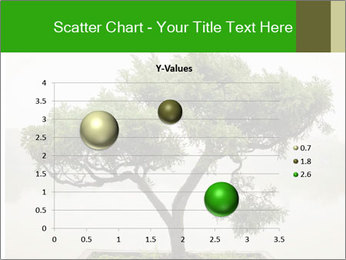 Chinese green bonsai tree PowerPoint Template - Slide 49