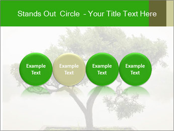Chinese green bonsai tree PowerPoint Template - Slide 76