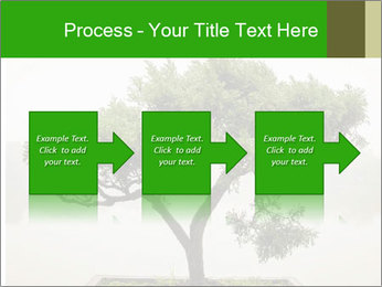 Chinese green bonsai tree PowerPoint Template - Slide 88