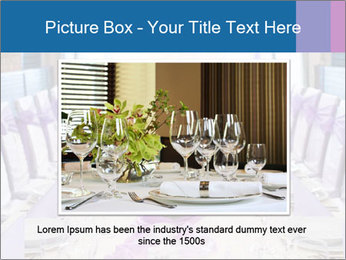 Festive table PowerPoint Template - Slide 16