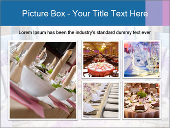 Festive table PowerPoint Template - Slide 19