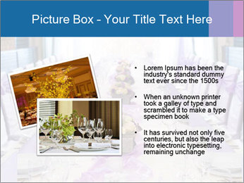 Festive table PowerPoint Template - Slide 20