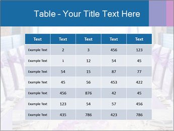 Festive table PowerPoint Template - Slide 55