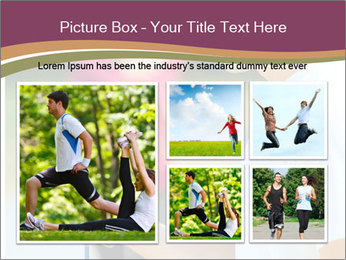 Close up portrait of male coach timing runner PowerPoint Template - Slide 19
