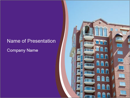 New house PowerPoint Template