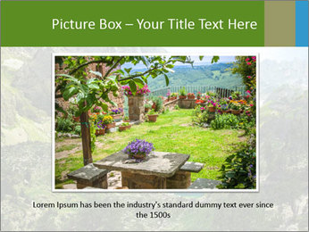 Amazing view of mountain lakes PowerPoint Template - Slide 16