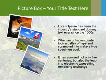 Amazing view of mountain lakes PowerPoint Template - Slide 17