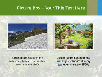 Amazing view of mountain lakes PowerPoint Template - Slide 18