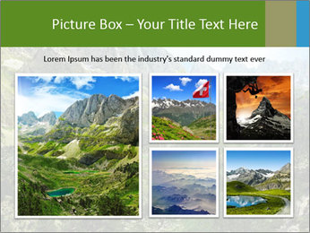 Amazing view of mountain lakes PowerPoint Template - Slide 19