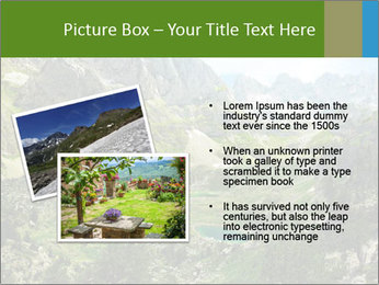 Amazing view of mountain lakes PowerPoint Template - Slide 20
