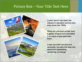 Amazing view of mountain lakes PowerPoint Template - Slide 23