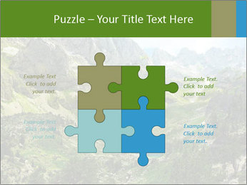 Amazing view of mountain lakes PowerPoint Template - Slide 43