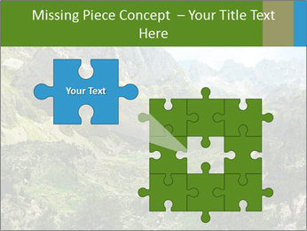 Amazing view of mountain lakes PowerPoint Template - Slide 45