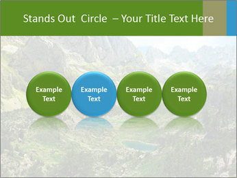Amazing view of mountain lakes PowerPoint Template - Slide 76