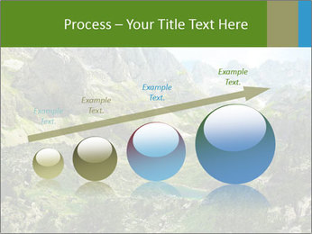 Amazing view of mountain lakes PowerPoint Template - Slide 87