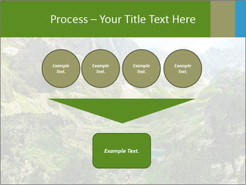 Amazing view of mountain lakes PowerPoint Template - Slide 93