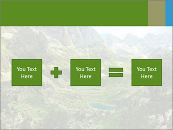 Amazing view of mountain lakes PowerPoint Template - Slide 95