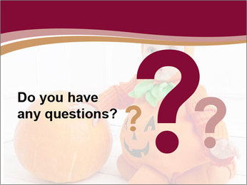 Child in pumpkin suit PowerPoint Templates - Slide 96