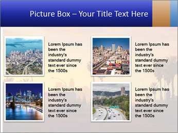 California from freeway PowerPoint Template - Slide 14