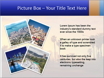 California from freeway PowerPoint Template - Slide 23