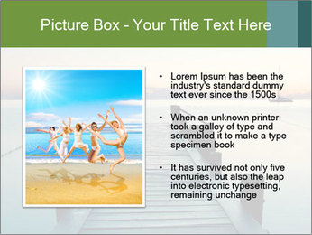 Naples in summer morning PowerPoint Templates - Slide 13