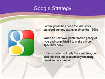 Illustration of a Wasp PowerPoint Template - Slide 10