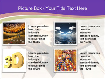 Illustration of a Wasp PowerPoint Template - Slide 14