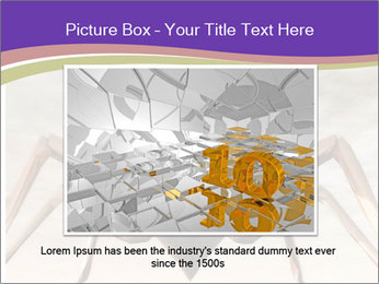 Illustration of a Wasp PowerPoint Template - Slide 15