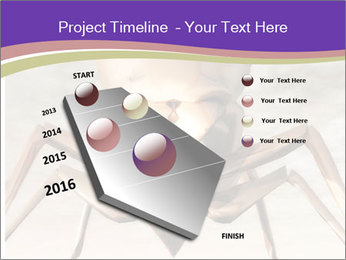 Illustration of a Wasp PowerPoint Template - Slide 26
