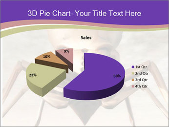 Illustration of a Wasp PowerPoint Template - Slide 35