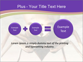 Illustration of a Wasp PowerPoint Template - Slide 75