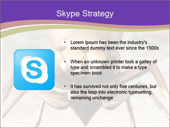 Illustration of a Wasp PowerPoint Template - Slide 8