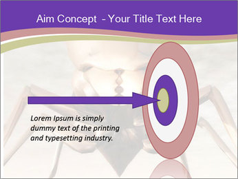 Illustration of a Wasp PowerPoint Template - Slide 83