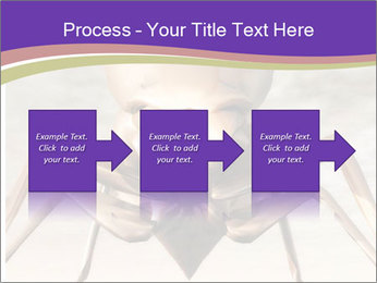 Illustration of a Wasp PowerPoint Template - Slide 88
