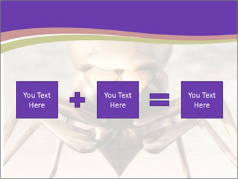 Illustration of a Wasp PowerPoint Template - Slide 95