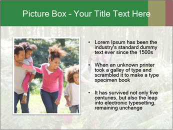 Group Hiking In Woods Together PowerPoint Templates - Slide 13
