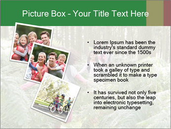 Group Hiking In Woods Together PowerPoint Templates - Slide 17