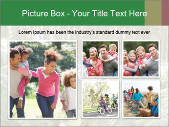 Group Hiking In Woods Together PowerPoint Templates - Slide 19