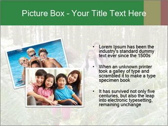 Group Hiking In Woods Together PowerPoint Templates - Slide 20