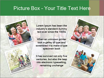 Group Hiking In Woods Together PowerPoint Templates - Slide 24