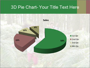 Group Hiking In Woods Together PowerPoint Templates - Slide 35