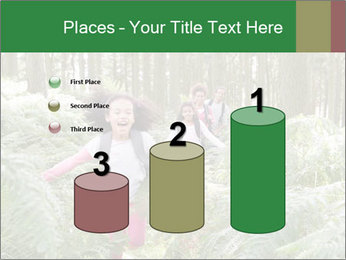Group Hiking In Woods Together PowerPoint Templates - Slide 65