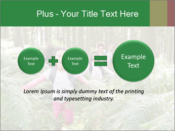 Group Hiking In Woods Together PowerPoint Templates - Slide 75