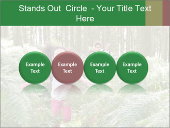 Group Hiking In Woods Together PowerPoint Templates - Slide 76